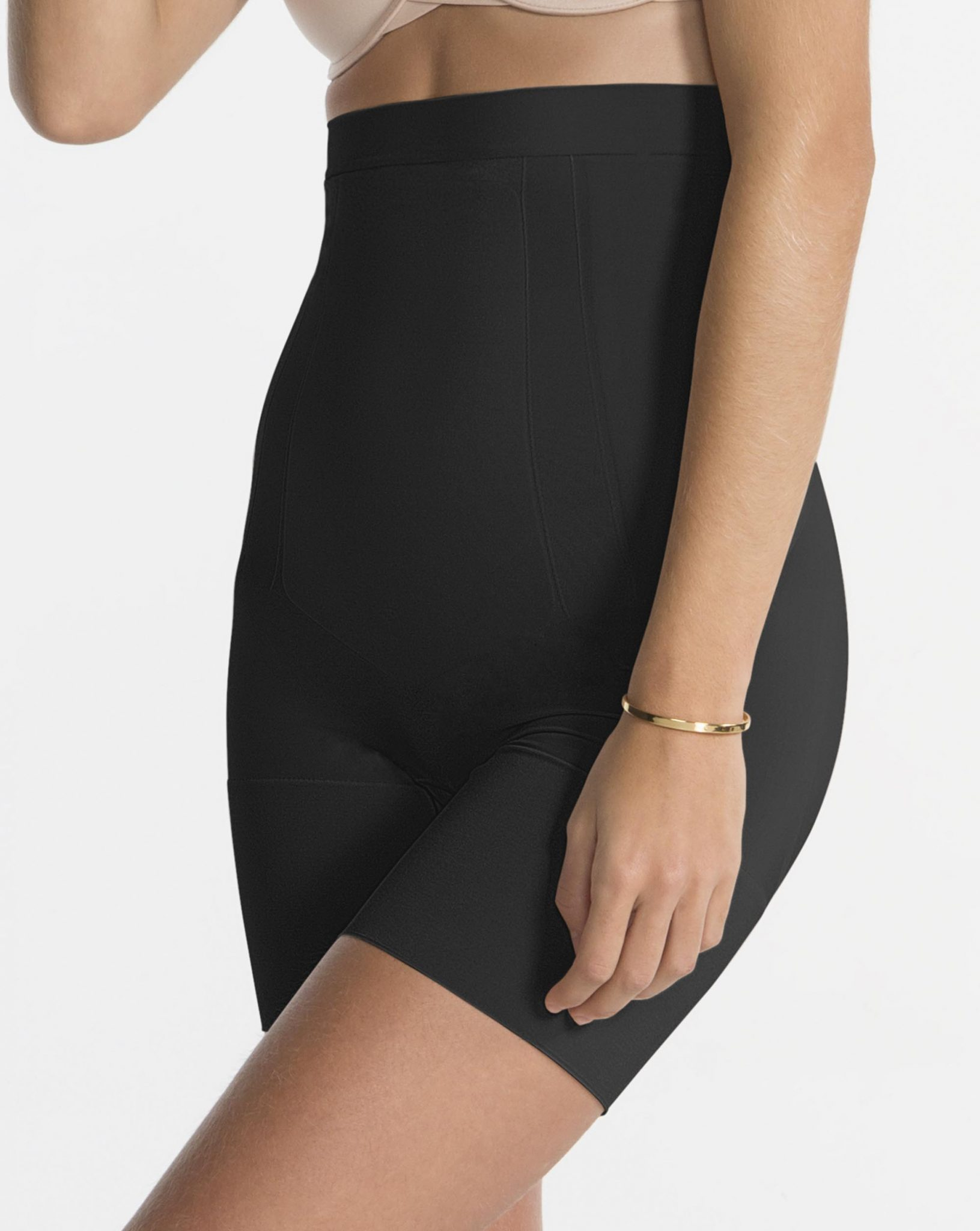 41bba3ed72 Spanx OnCore High-Waisted Mid-Thigh Short