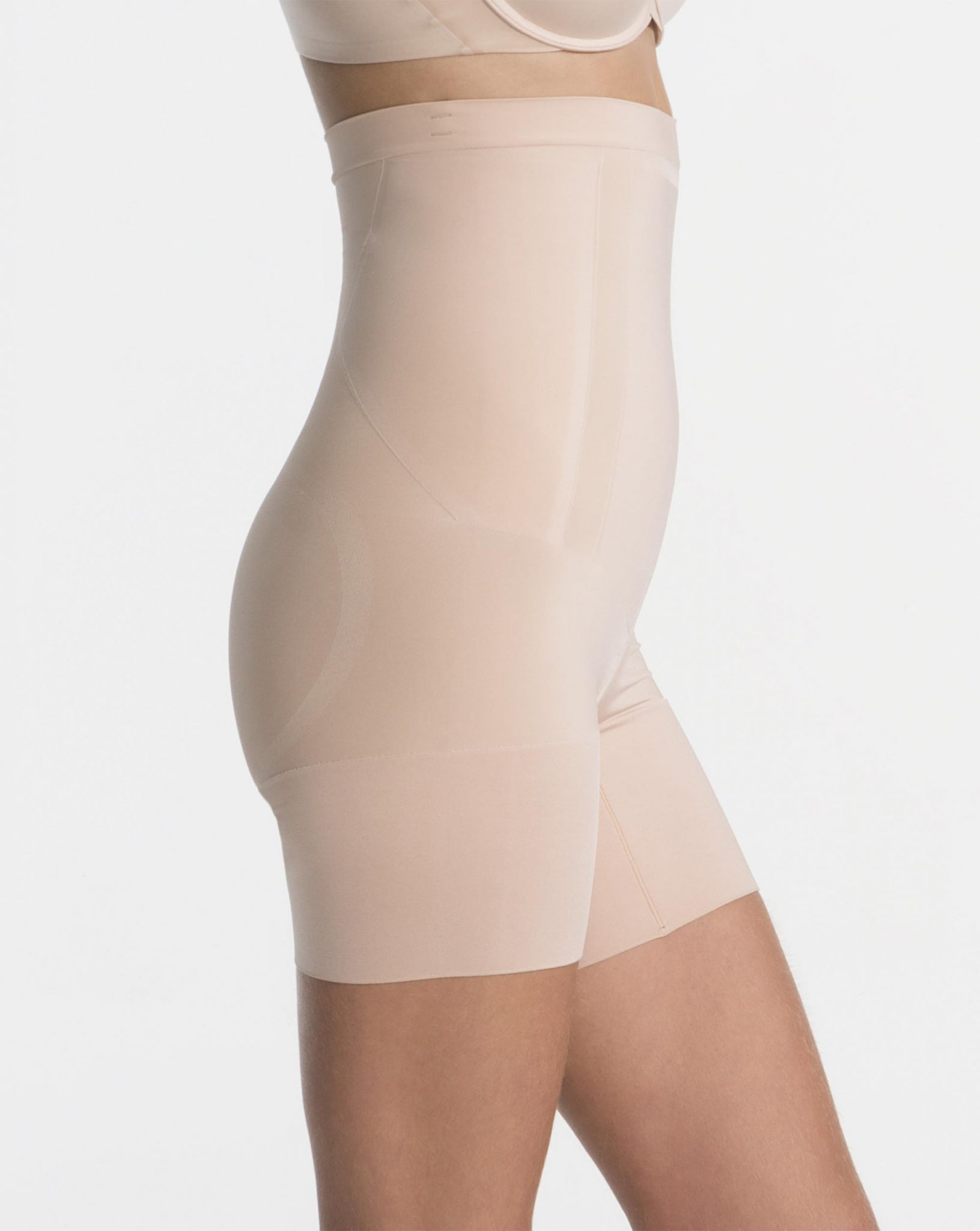 dd440864fe Spanx OnCore High-Waisted Mid-Thigh Short