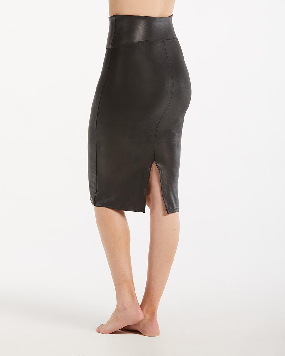 c987307a4f99c Spanx Faux Leather Pencil Skirt | Inner Secrets