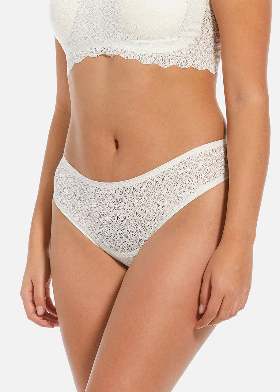 Dream Lace Thong White
